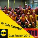 Vi, Oss, Sammen - Cupfinalesang Lillestrøm Kvinner 2019